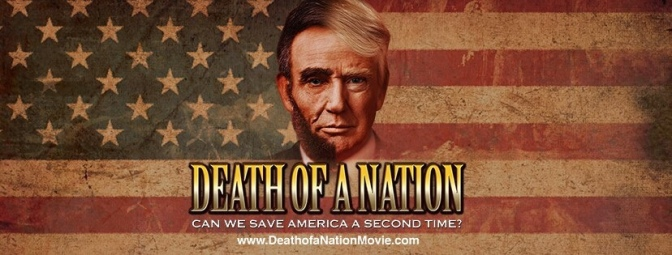 "Come Watch Dinesh D'souza's new film: ""Death of a Nation."""